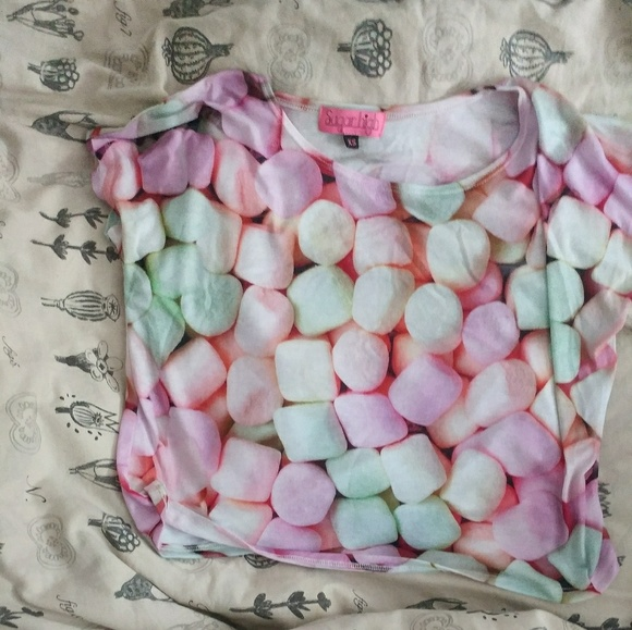 Forever 21 Tops - Marshmallow crop top